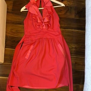 BCBG dress size 4 Coral